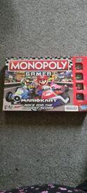 Monopoly mariokart gamer edition
