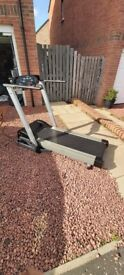 Carl Lewis Easy Up Electric Treadmill with incline
