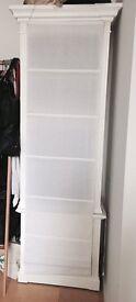 White Wooden Shelves 2 x