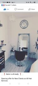 Beauty room, own room available , hair chair/ space