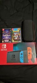 Nintendo switch 2 games,fit ring and case