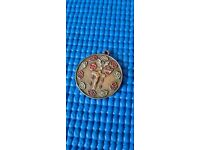 Lovely collectible religious cross medal