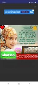 Quran classes for children and adults online via skype and whatsap