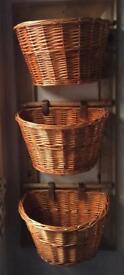 Wall-Hung Basket Storage