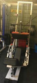 Heavy duty leg press