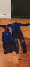 Old 7mm Wetsuit with shortie