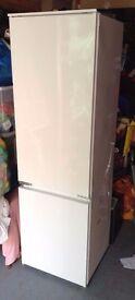 Zanussi Built in Fridge Freezer Nearly New