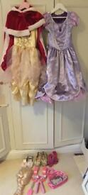 Girls fancy dress bundle. Age 5-6. Elsa, Sophia & belle