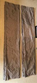 John Lewis grey blackout curtains
