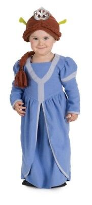 Toddler Infant Child Shrek The Third Princess Fiona Blue Dress Costume - Princess Fiona Costume Kids