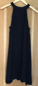 Little Black Halter Neck Dress - French Connection size 8 (easily fit a size10)