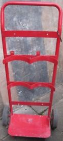 Sack Trolley (Fire Point 2x extinguisher holder) serviceable as a solid robust but light trolley.