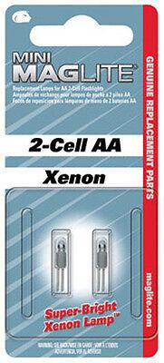 MAGLITE Mini Mag Flashlight Bulbs 2 Pack For 2-Cell Flashlights (Minimag Aa Flashlight)