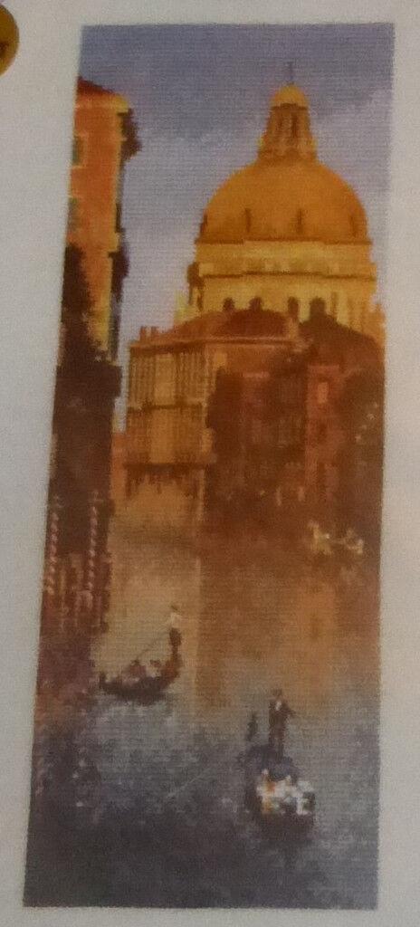 Heritage Crafts John Clayton Venice (Italy) Cross Stitch Kit, Ref: JCVE527