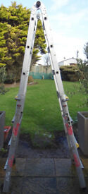 Wickes Professional Multi Function Aluminum Ladder