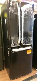 BRAND NEW HOTPOINT FRIDGE FREEZER IN BLACK GENUINE BARGAIN ... YOU WONT FIND THIS CHEAPER ANYWHERE !