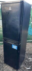 Indesit Black Fridge Freezer For Sale/ Free Delivery