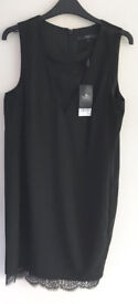 Next little black dress, size 12, brand new with tags