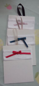 Three Handmade Tags Gift Tags Note Tags Memo Tags Quote Tags Decor Tags