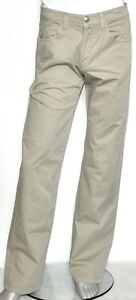 $250 NWT Robert Graham Khaki MONK Lightweight Stretch Cotton Jeans Pants 31/34