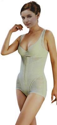 Full Body Shaper Waist Underbust Zipper Cincher Body Suits Control Firm Tummy007
