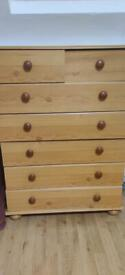 Used Furniture chest drawers sofa and tv Unit