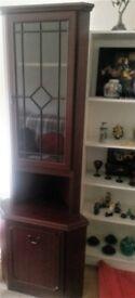 Three cornered cabinet