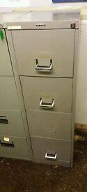 4 drawer slim metal filing cabinet