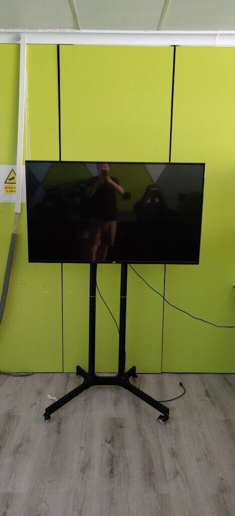 JVC 55'' LED TV with rolling stand  | in Selly Oak, West Midlands | Gumtree