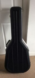 A Deluxe Acoustic Guitar Hard Case For Sale. VGC.