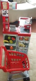 Smoby Shop with Trolley