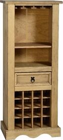 New Solid Corona Mexican Pine Wine rack Only £95