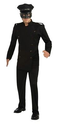 Mens Adult THE GREEN HORNET Deluxe Kato Costume