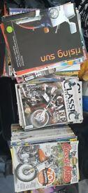 150+ Motorcycle Magazines