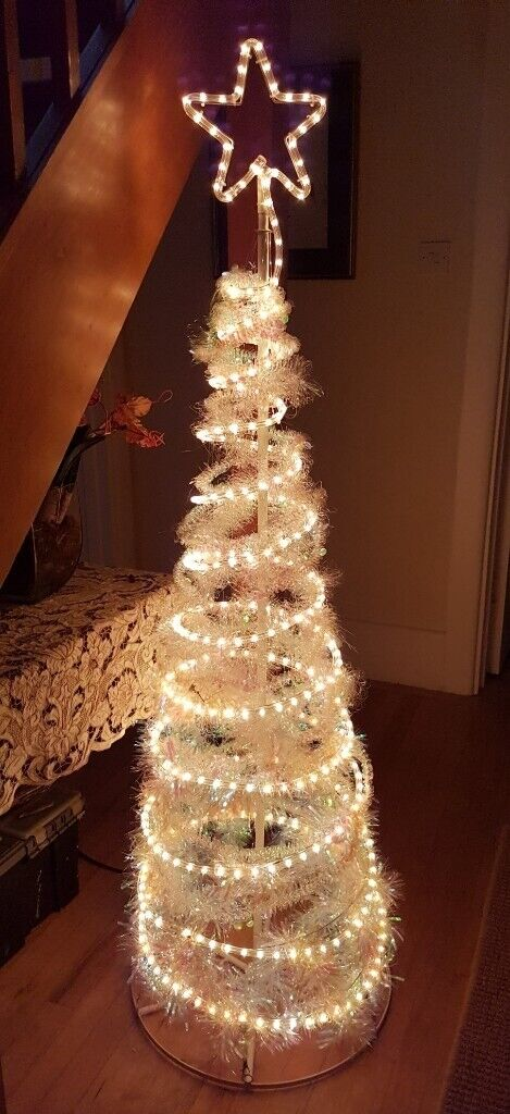 64 Inch Bright Led Light Christmas Tree We Use It For All Year Round Decorative Light In The Hall In Bournemouth Dorset Gumtree
