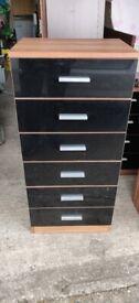 Black gloss furniture set