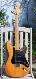 Vintage Kay Stratocaster project 60s / 70s - hardtail, lawsuit era - great pickups & vintage tone