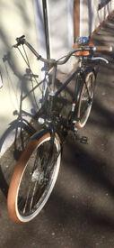 European-style town bike: Velorbis Churchill Balloon