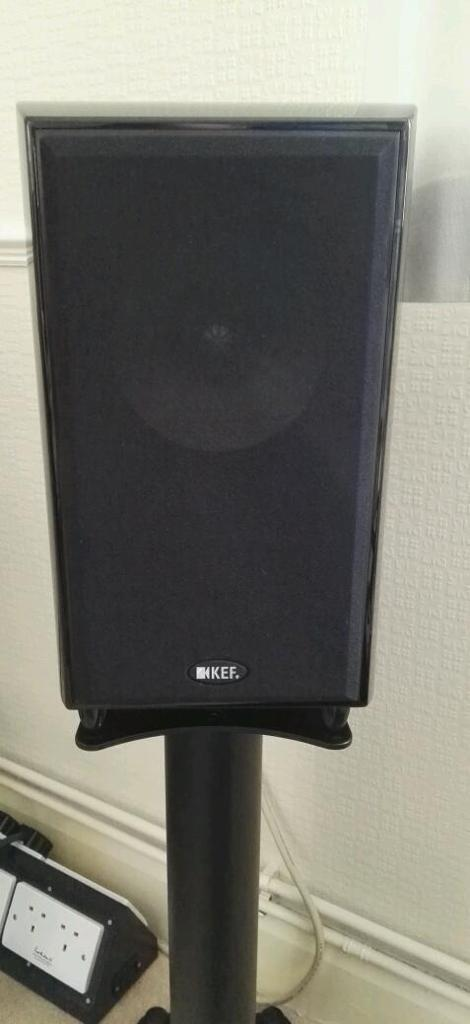 kef xq20. kef xq20 speakers with stands