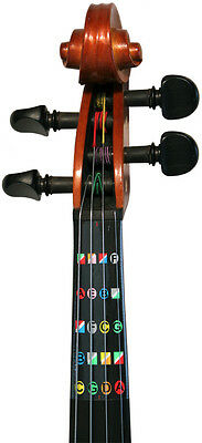 Learn how  to play HALF (1/2) size violin with Fretless Finger Guides on Rummage