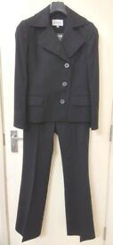 Next - Black Pants Suite - Jacket UK10 - Trousers UK 8 Regular