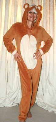 Womens,Mens,Kids,1Onesie1,Unisex,Bear, jumpsuit all in one adult fancy dress.](Bear Onesie Adult)