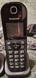 Panasonic Cordless Telephones - x3 bundle with answer machine