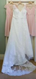 Ivory Lace Hermione Wedding Dress - Size 24 (to fit Size 20/22)