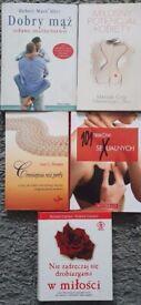 Clearance: Polish Books For Sale/ Polskie Ksiazki