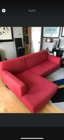 Modern L-shaped sofa