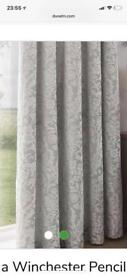 DORMA Beautiful Blackout lined curtains.