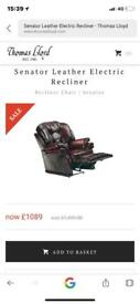 Thomas Lloyd Power Recliner Chair
