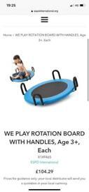 We play rotation board