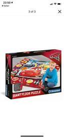 Disney Cars giant floor puzzle